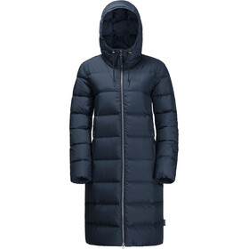 Jack Wolfskin Crystal Palace Jakke Damer, midnight blue